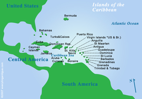 Just Where is Nevis Anyhow Plumeria Breezes Travel